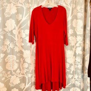 Super Soft red dress